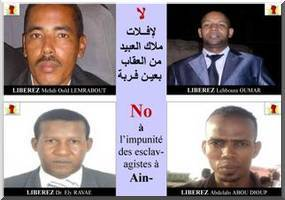 4 Anti-Slavery activists arrested in Mauritania