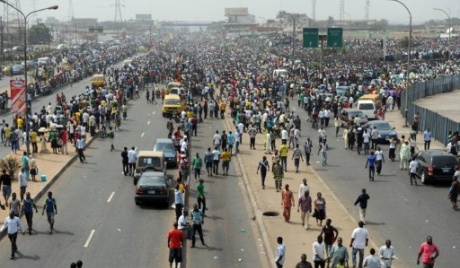 Nigeria oil unions threaten joining strike. Photo: AFP