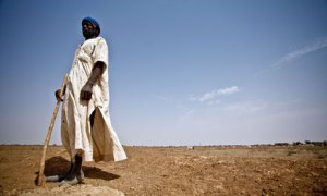 Sahel food crisis : drought stricken South of Mauritania