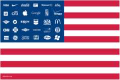 Adbusters OWS Flag