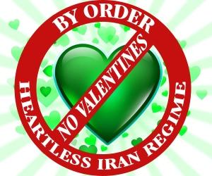 Iran's Valentine Ban
