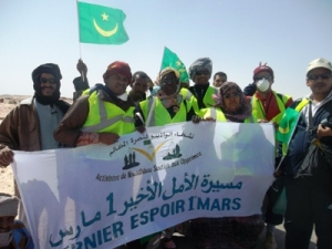 March of Last Hope Nouadhibou to Nouakchott