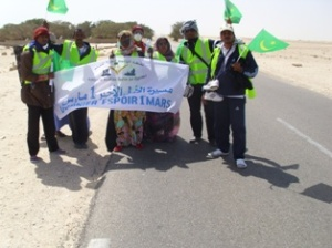 2 Mar 2012 March of Hope Nouadhibou to Nouakchott Day 2