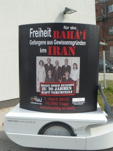 Germany Mobile Protest Artwork
