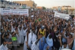 Mass protest 25 February 2011 in the capital of Mauritania, Nouakchott