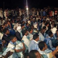 #Mauritania massive 2 May 2012 protest rally and sit-in