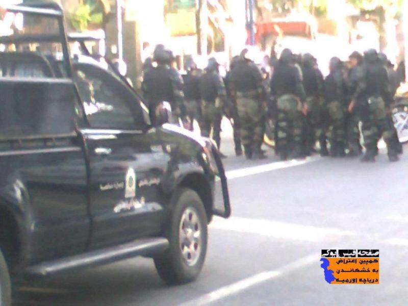 Urmia Protest 1