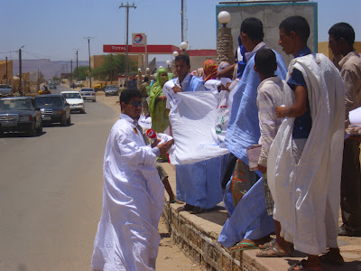 8 May - Adrar Youth Protest