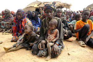 Malian refugees in Niger. Photo Credit: UNHCR/H. Caux