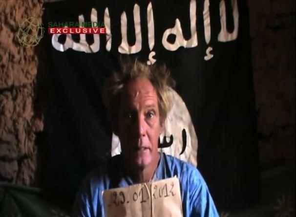 AQIM hostage Sjaak Rijke, Netherlands