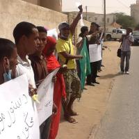 #Mauritania protests against slavery and military rule