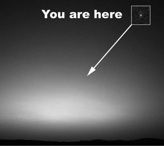 Earth-from-Mars