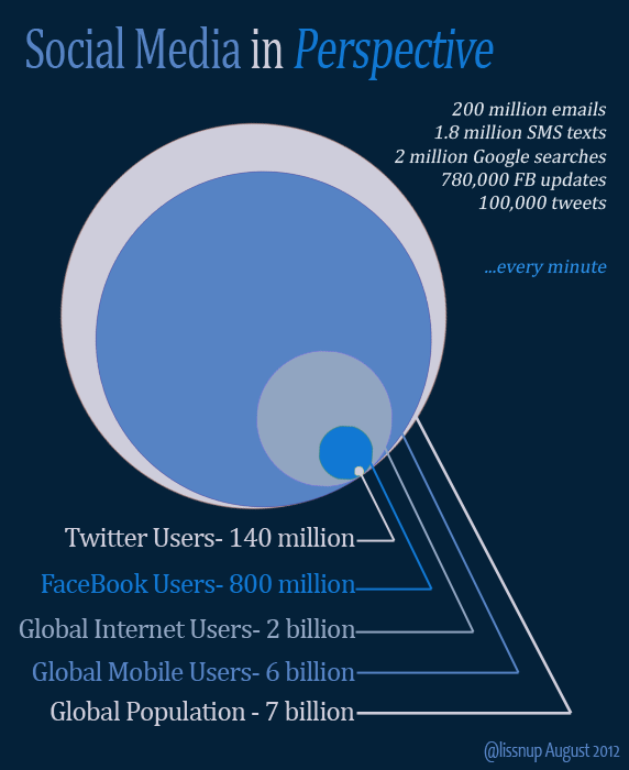 Social Media in Perspective [infographic]
