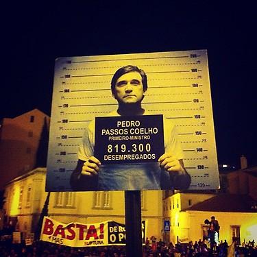 President Pedro Passos Coelho - Unemployed