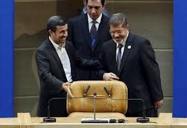 Morsi at NAM Summit Tehran