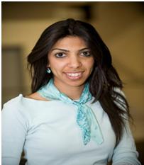 Bahrain Journalist Nazeeha Saeed [pic: BHR]