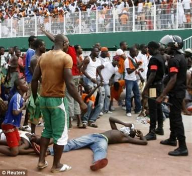 New Year's stampede in Abidjan  (Reuters)