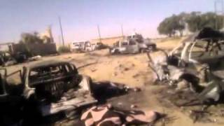 5 vehicles in Mauritania destroyed in cross-border attack by France