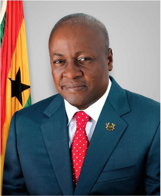 President Mahama of Ghana