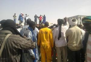 24 Apr 13 Mauritania dockers hear details of win over ministry from strike leaders