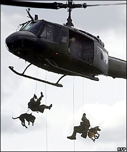 Coming soon to African skies: parascending military dogs
