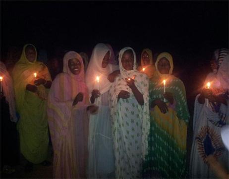 21 July le manque d'électricité Rkiz, N'tékane, Bareïne, Lexeiba 2-1