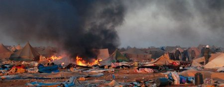 Gdeim Izik camp destroyed by military to crush 2010 protests