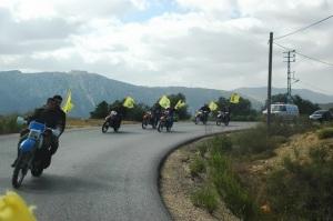 Hezbollah convoy in Syria