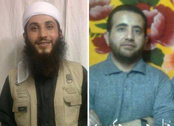 Mamousta (shaykh) Kaveh Vaisi (left) and Mokhtar Rahimi (right)