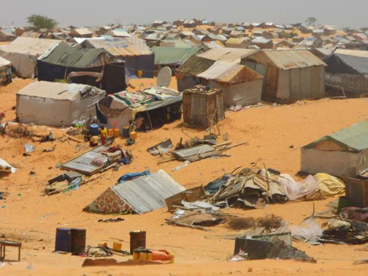 Freed into homelessness and unemployment, former slaves in Mauritania build makeshift villages from found materials. But they are often made homeless again, their shanty-towns bulldozed in land-grabs, as happened in Leimghetty, outside the capital, Nouakchott, in May 2013