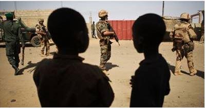 Terrorists in Mali