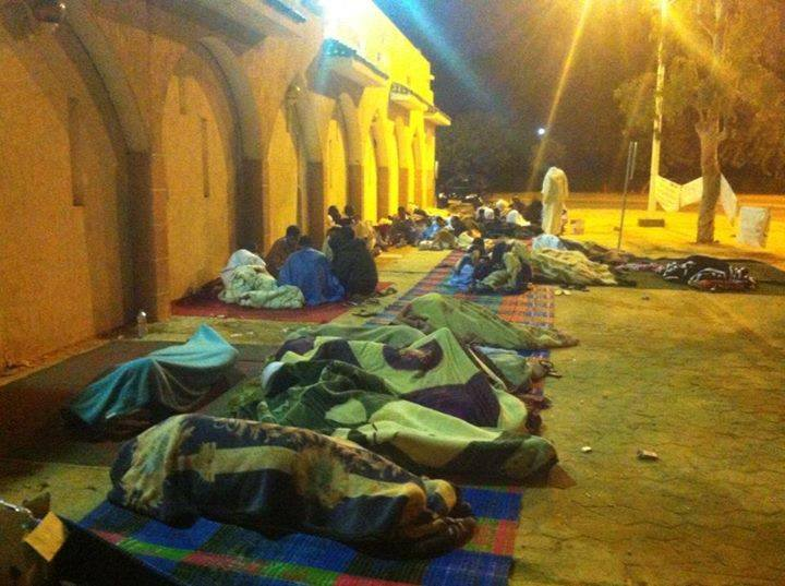 Tasiast Workers Sit-in