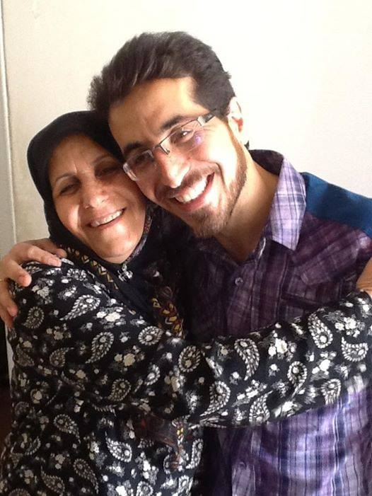 Majid Dori reunited with his mother after 5 years